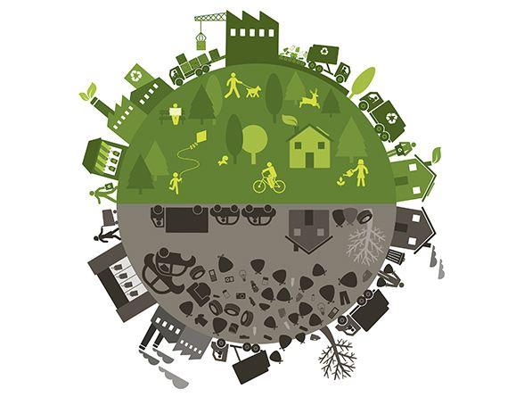 Kreislaufwirtschaft und recycelte Stoffe