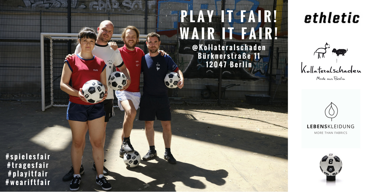 Play it fair! Wear it fair!