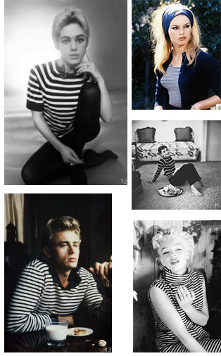 Collage stripes