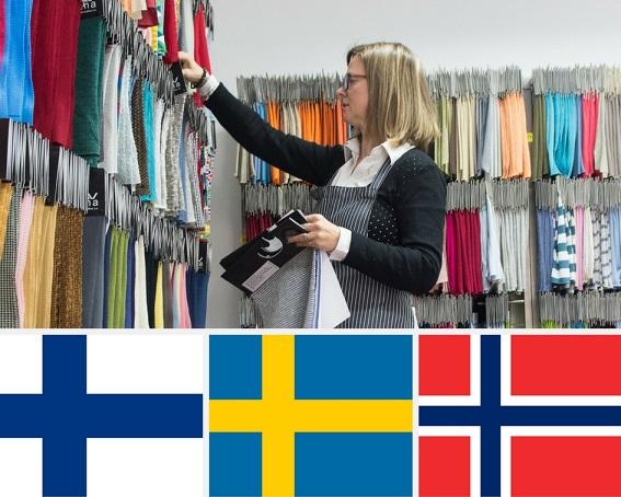 Lebenskleidung goes Skandinavien