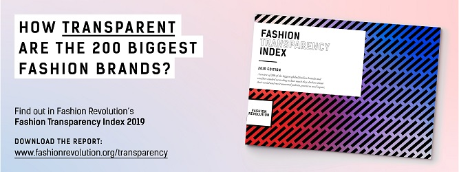 Fashion Transparency Index 2019 - the results