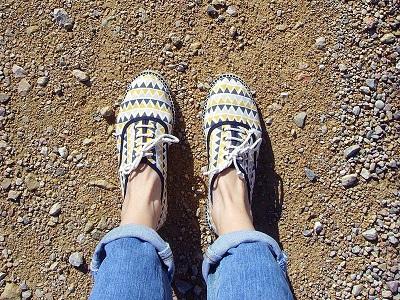 Was ist eigentlich mit Schuhen?