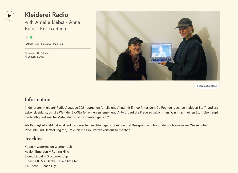 Kleiderei Podcast