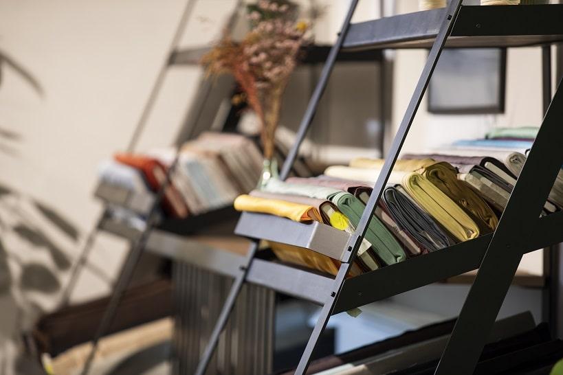 Fabric shelf
