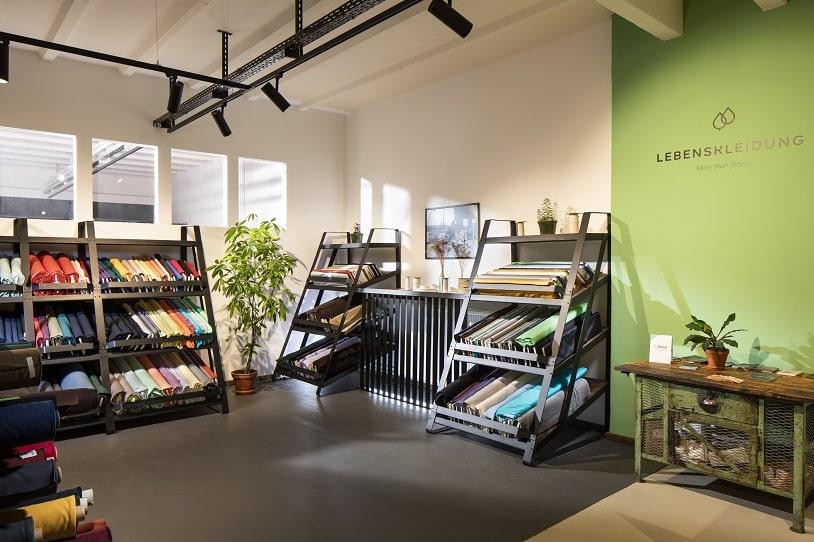 Lebenskleidung Store Shelfes