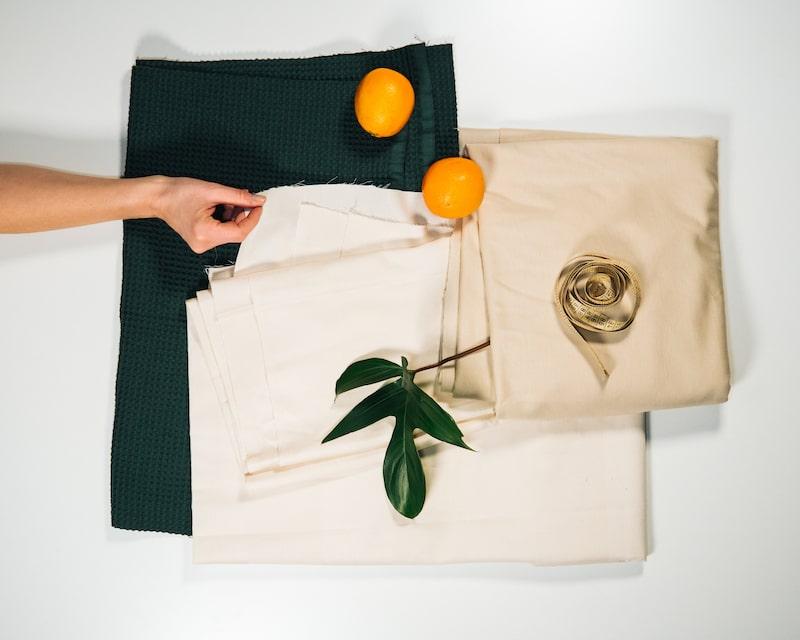 Stoff Orange